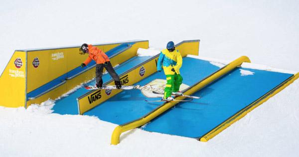 Autriche Avis snowpark Mayrhofen