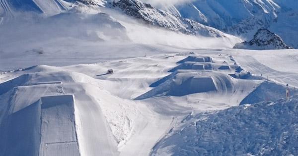Autriche avis Snowpark Hintertux