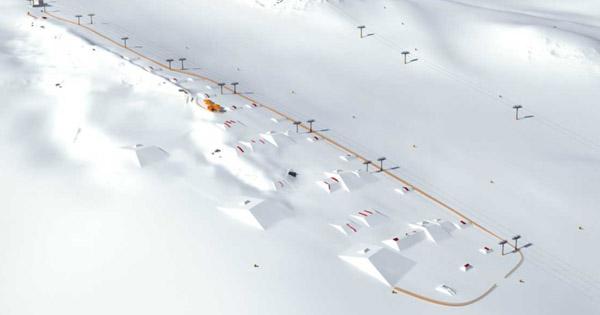 Avis Area 47 Snowpark Solden