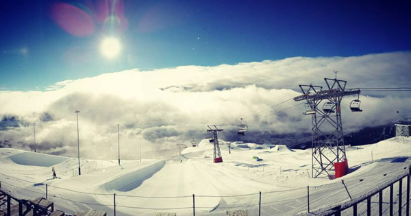 Avis Snowpark Laax