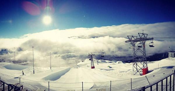 meilleurs snowparks Europe