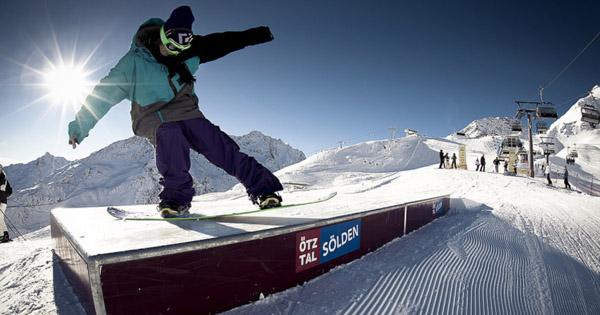 Avis Snowpark Solden Autriche