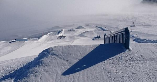 Avis snowpark Hintertux Autriche