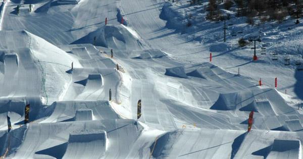 Avis snowpark Vars