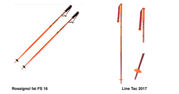bâtons de ski freestyle