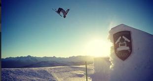 Sécurité ski snowpark