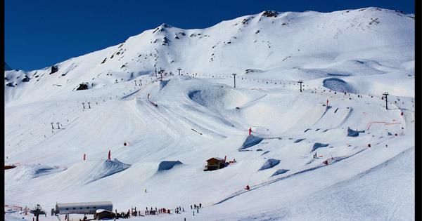 Avis snowpark Val d'Isere