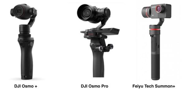 Stabilisateur avec caméra intégrée