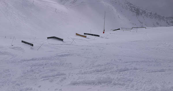 Avis Saint Lary snowpark