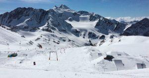 Avis snowpark Stubai Gletscher