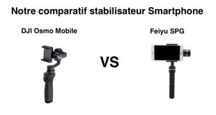Comparatif DJI Osmo Mobile Feiyu SPG
