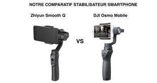 Comparatif DJI Osmo Mobile Zhiyun Smooth Q