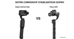 Comparatif Feiyu G4S et Gopro Karma Grip