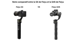 Comparatif Feiyu G5 Feiyu G4S