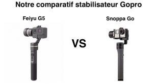 Comparatif Feiyu G5 et Snoppa Go