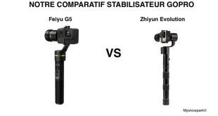 Comparatif Feiyu G5 et Zhiyun Evolution