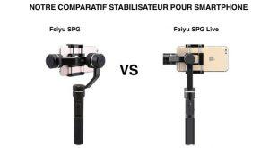 Comparatif Feiyu SPG et SPG Live