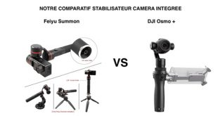 Comparatif Feiyu Summon DJI Osmo +