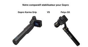 Comparatif Gopro Karma Grip Feiyu G5