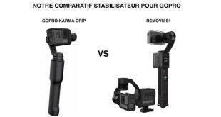 Comparatif Gopro Karma Grip Removu S1