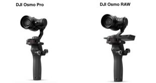 DJI Osmo Pro et RAW différence