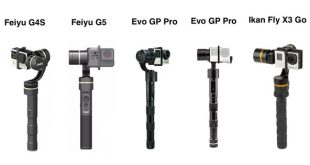 Stabilisateur Gopro recharge camera