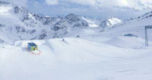 avis snowpark Stubaier Gletscher