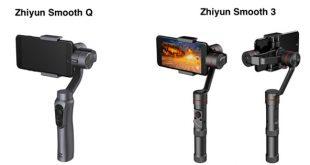 stabilisateur recharge smartphone Zhiyun Smooth Q 3