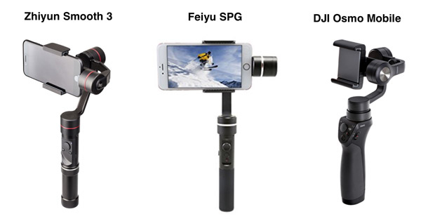 Stabilisateurs smartphone DJI FEIYU ZHIYUN