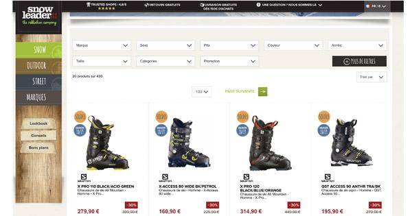 9987958656fd9 Comparatif chaussure de ski   trouvez la meilleure paire du marché !