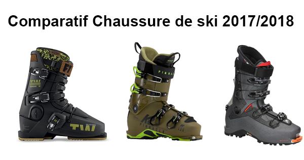 Comparatif meilleure chaussure ski