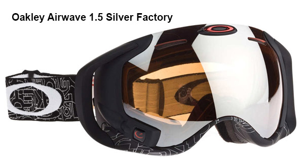 Oakley Airwave 1.5 Silver Factory
