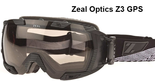 Zeal Optics Z3 GPS Live Black Matte