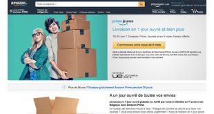 Amazon Prime Gratuit 6 mois