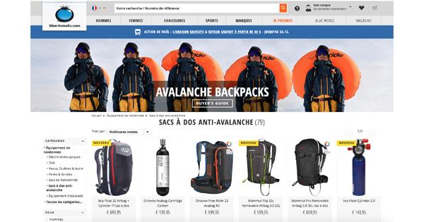 Meilleur sac airbag ski
