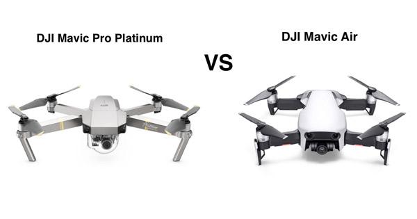 DJI Mavic Pro ou Air