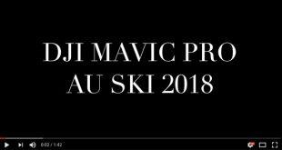 Test DJI Mavic Pro Ski
