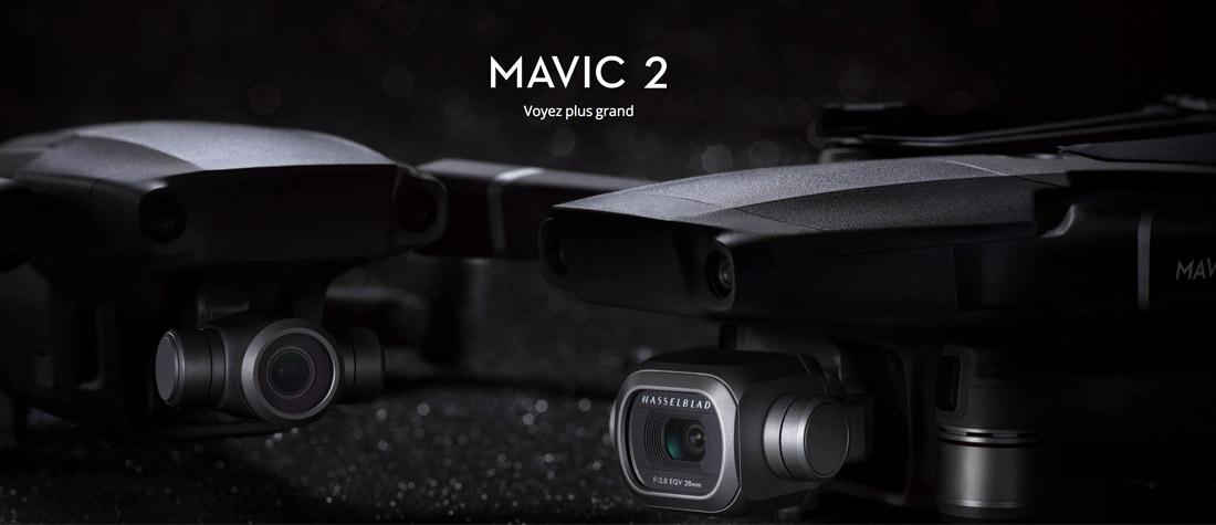 DJI Mavic 2 Pro ou Zoom