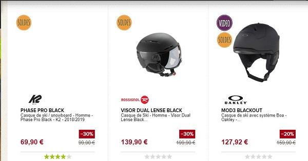 Combien coûte un casque de ski - Snowleader