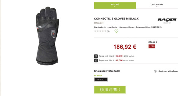 Connectic 3 Gloves