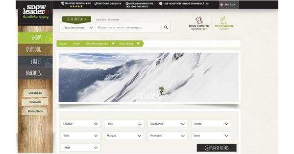 Sac de ski abs