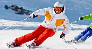 port du casque de ski