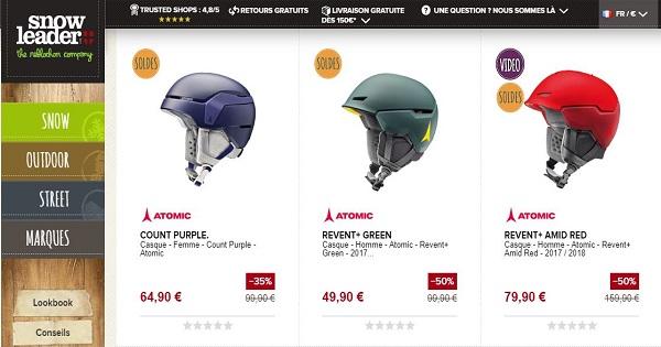 Avis sur les casques Atomic - Disponibles sur Snowleader