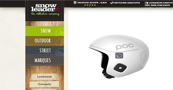 Avis sur les casques POC - Snowleader