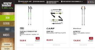 Où acheter des bâtons de ski - Snowboard