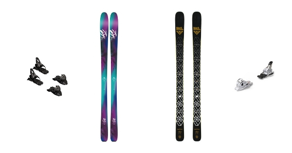 Pack ski + fixations
