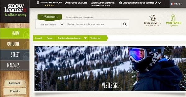 où acheter une veste de ski pour femme - Snowbord 1